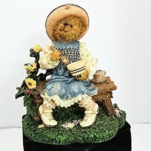 Boyd's Bears Figurine Lil Miss Muffet Retired 2455